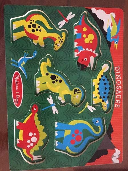 967: Dinosaur puzzle