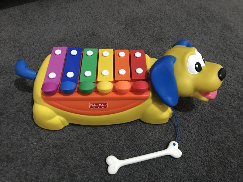 992: Dog xylophone