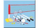 1006: 3 in 1 badminton, tennis and volleyball set