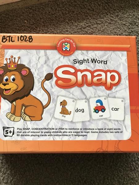 1028: Sight word snap