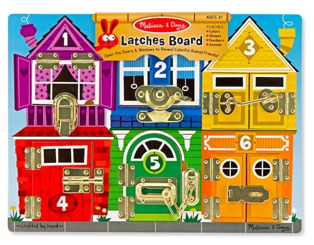 1032: Latches and locks board