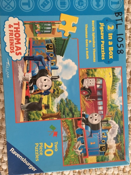 1058: Thomas and Friends - 2 in a box puzzles