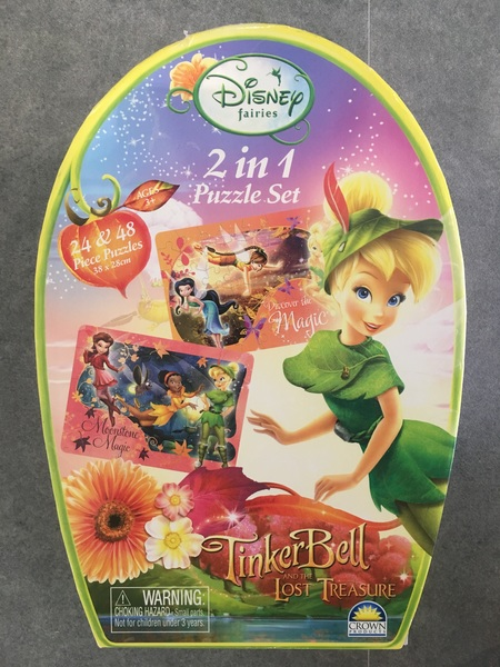 1059: Tinker Bell and the Lost Treasure Puzzle
