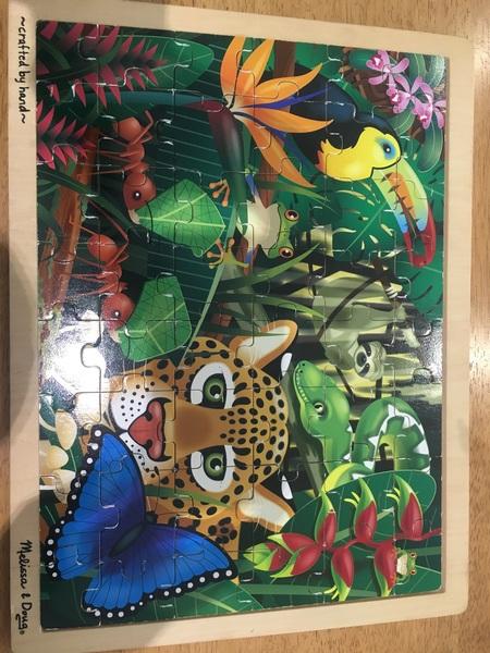 1060: Jungle Puzzle