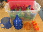 1065: Funnels and Tubes Water play set