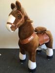 1071: Ponycycle - MEDIUM brown horse