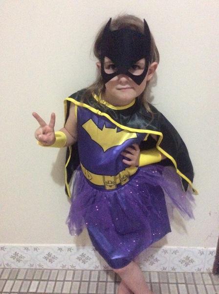 1087: Bat Girl Costume