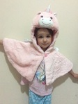 1089: Unicorn Cape Costume
