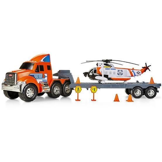 1161: Tonka carrier with helicopter