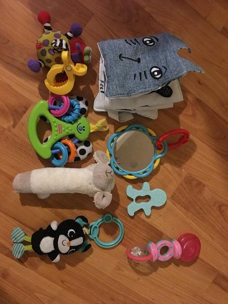 1201: 0-3 Month Activity Box 1