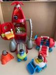 1295: Rocket Play Set - ELC