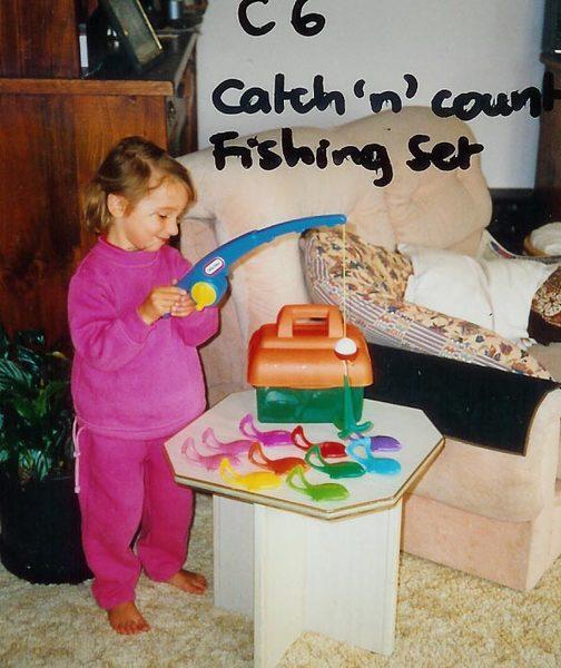 6B: Catch 'n' Count fishing set