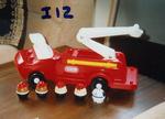 12B: Little Tikes Fire Engine
