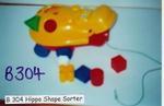 304B: Hippo Shape Sorter