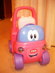 556B: My First Cozy Coupe Push-along and Ride-on