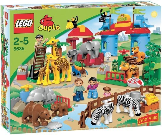 628B: Duplo Big City Zoo #5635