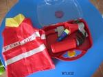 632B: Firefighter costume and Accessory Case