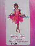 654B: rainbow fairy costume