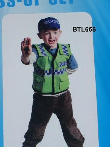 656B: Police officer costume