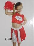 657B: cheerleader costume