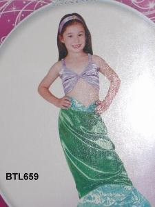 659B: Ariel mermaid costume