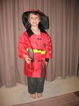 703B: Fire Chief costume