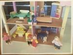 846B: Wooden Dolls House