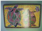 91G: Aboriginal Art: Turtles Puzzle