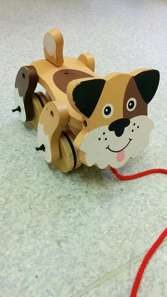 917B: Playful puppy