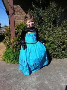 1011: Frozen Elsa Coronation Costume