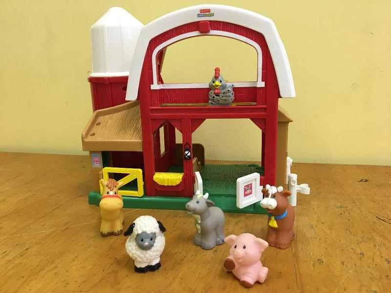 1017: Little People Barn with Animals