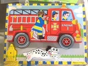 1068: Fire Truck Chunky Puzzle