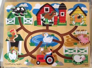 1072: Farm Maze Puzzle