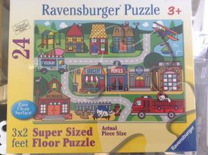 1059: City Streets Supersized Puzzle