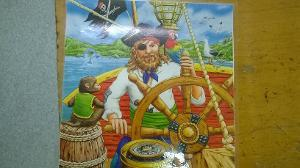 1150: Ships Wheel Pirate Puzzle