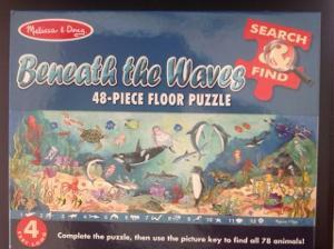 1222: Beneath the waves floor puzzle
