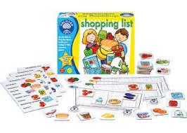 1197: Shopping List Game