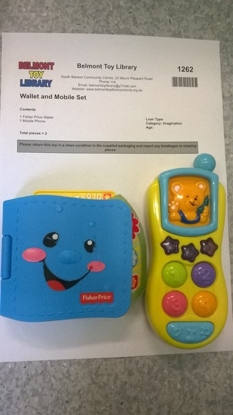 1262: Wallet and Mobile Set
