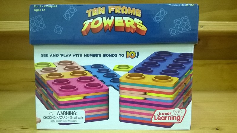 1234: Ten Frame Towers