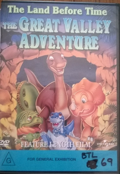 69: The Land Before Time - The Great Valley Adventure - full length film