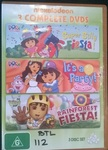 112: Nickelodeon 3 complete DVDs - Dora and Diego