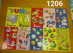 1206: Floor Puzzle - numbers 1-10