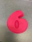 379: Cake Mould - Number 6 or 9
