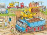 410: super sized floor puzzle - construction site