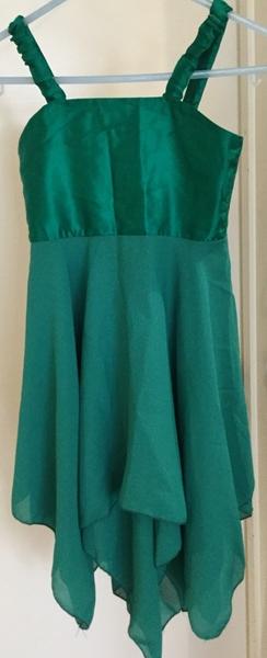 602: Green Dance Dress