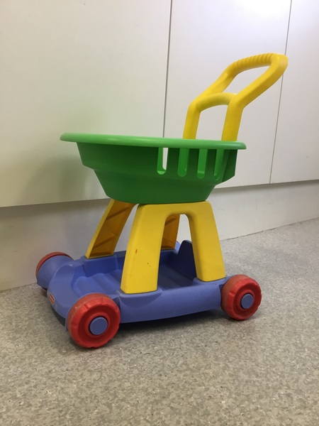 859: Fisher Price Trolley
