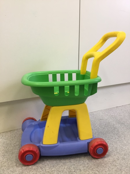 860: Fisher price trolley