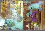 1267: Monster's Inc. Puzzle x2