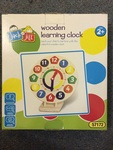 63: Wooden Learning Clock