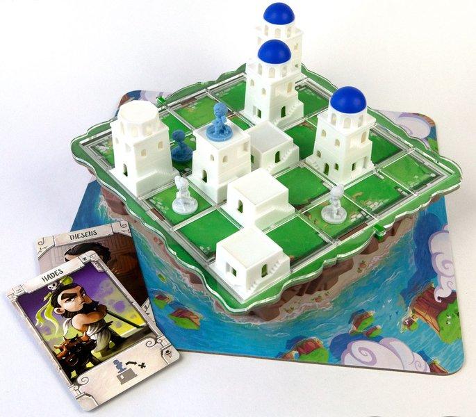 159: Santorini Board Game